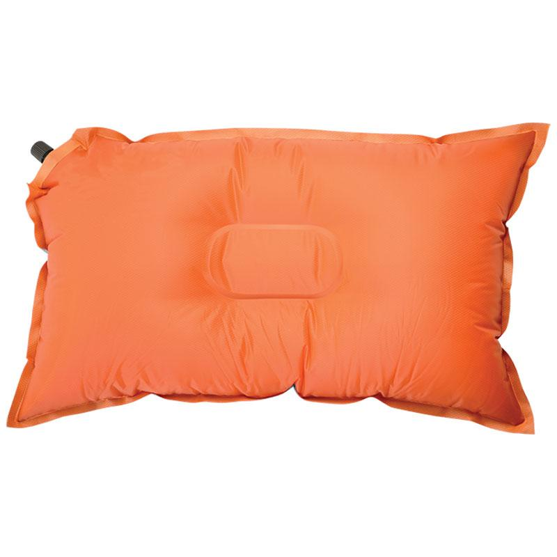 Green | Sherpa Self Inflating Pillow