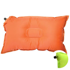 Feature | Sherpa Self Inflating Pillow