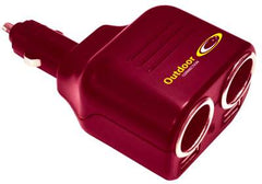 OUTDOOR CONNECTION DOUBLE 12V CIGARETTE LIGHTER OUTLET WITH USB PORT