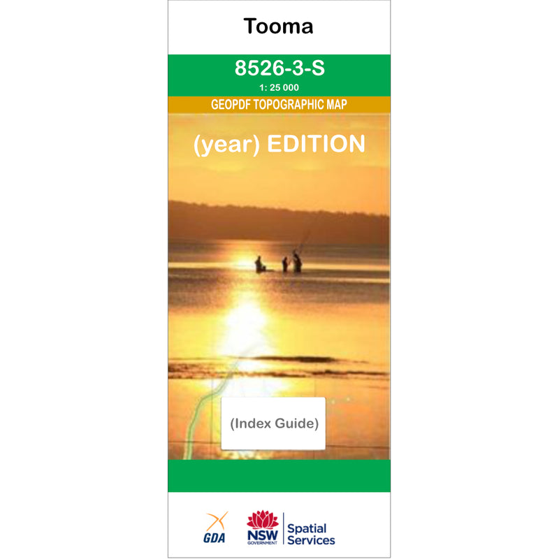 Tooma 8526-3-S NSW Topographic Map 1:25k