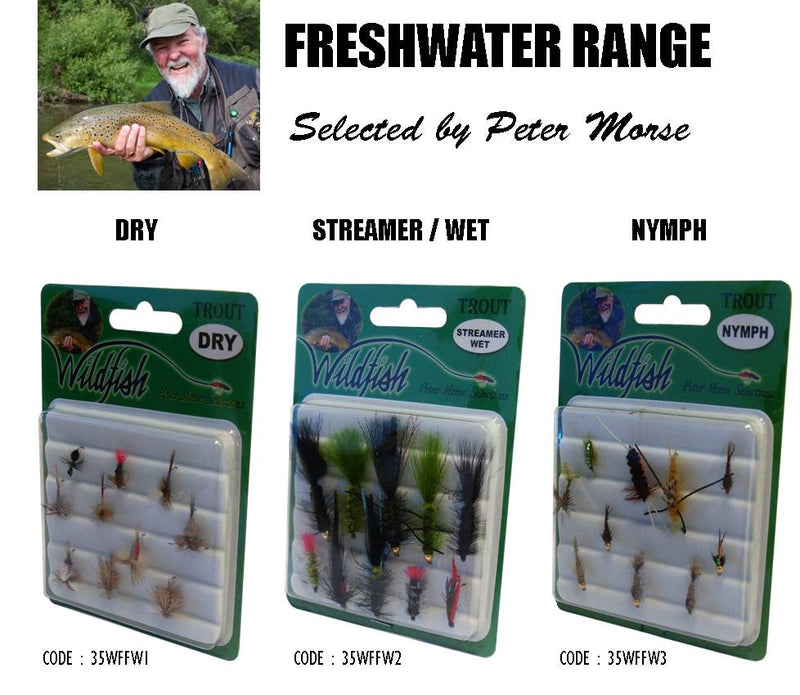Wildfish Trout Fly Pack