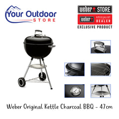 Hero | Weber Original Kettle Charcoal BBQ 47cm Black