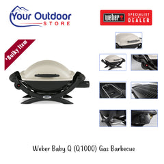 Weber Baby Q (Q1000) Gas Barbecue
