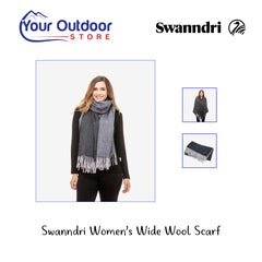 Swanndri Women's Wide Wool Scarf Hero
