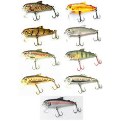 Bullet Lures Five - 0 Minnow 5cm