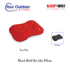 True Red | Black Wolf Air-Lite Pillow- Hero Image