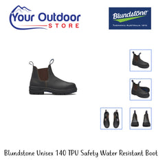 Stout | Blundstone Unisex 140TPU Safety Water resistant Boot various angles and Images.