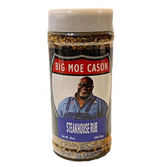 Big Moe Cason Steakhouse Rub Jar