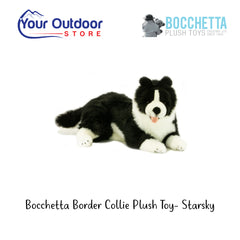 Bocchetta Border Collie Plush Toy- Starsky