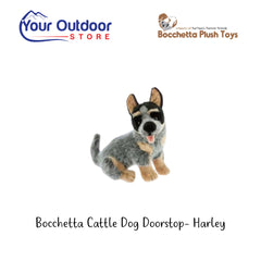 Bocchetta Cattle Dog Doorstop- Harley