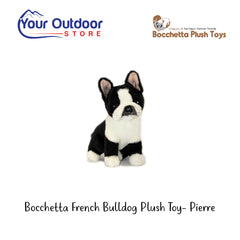 Bocchetta French Bulldog Plush Toy- Pierre