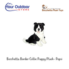 Bocchetta Border Collie Puppy Plush Toy- Pepsi