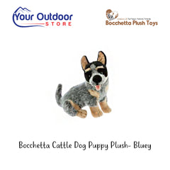 Bocchetta Cattle Dog Plush Toy- Bluey