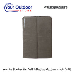 Zempire Bomber Pad Self Inflating Mattress- Twin Split