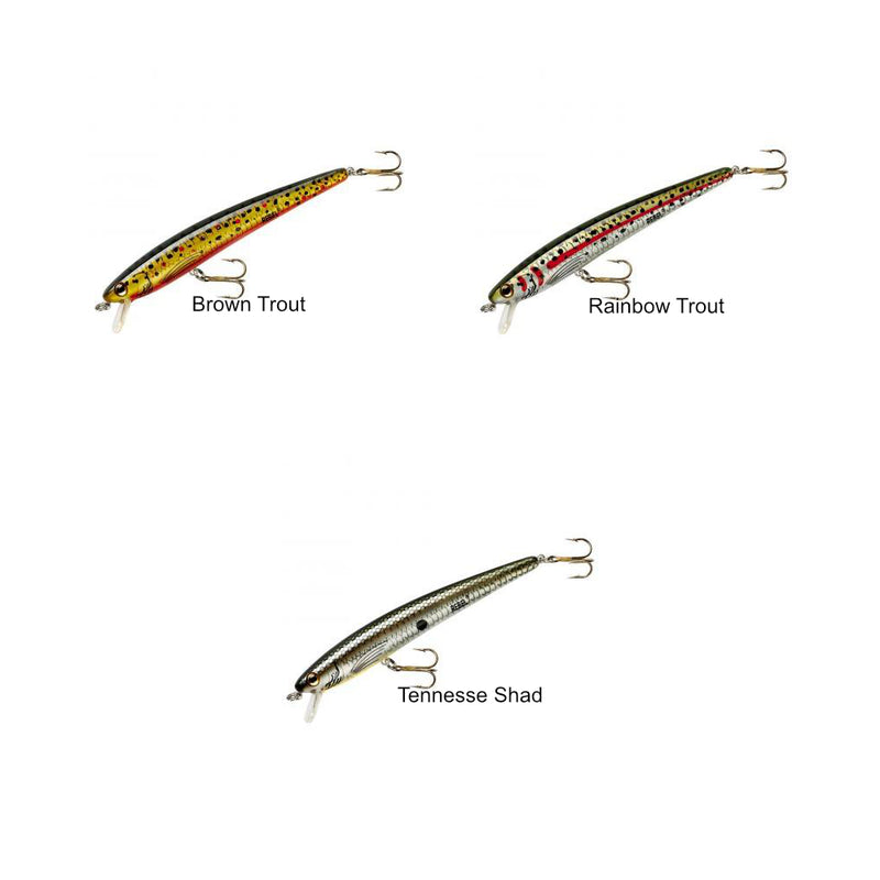 Brown Trout | Rebel Tracdown Ghost Minnow