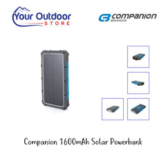 Companion 16000mAh Solar Powerbank
