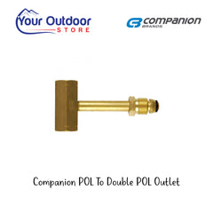 Companion POL Cylinder Adapter Dual POL Outlet