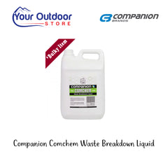 Companion Comchem Waste Breakdown Liquid 5L
