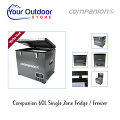 Companion Single Zone 60 Litre Fridge Freezer