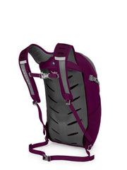 Eggplant Purple | Osprey Daylite Plus Side Back