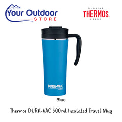 Blue | Thermos Dura-Vac Stainless Steel Vacuum Insulated Travel mug