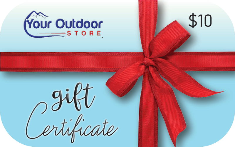 Your Outdoor Store Gift Card $10