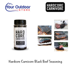 Hardcore Carnivore BLACK Beef Seasoning BBQ Rub