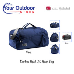 Navy | Caribee Haul 2.0 Gear Bag. Hero