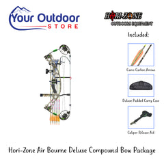 HORI-ZONE Air Bourne Deluxe Compound Bow Package | Right Hand | 70lb