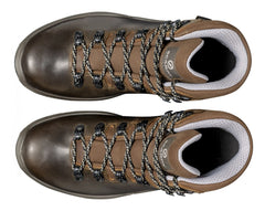 Brown | Scarpa Terra GTX Unisex Hiking Boots. Pair from the top