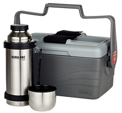 Thermos Lunch Lugger 6.6 Litre with 1 Litre Stainless Steel Flask