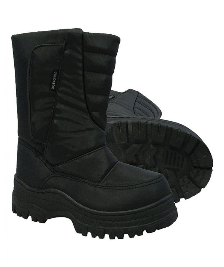 Black | XTM Mens Predator Apres Snow Boot hero Image