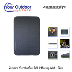 Zempire MonstaMat Self Inflating Mat- Twin