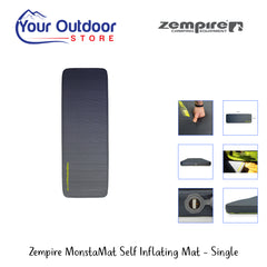 Zempire MonstaMat Self Inflating Mat- Single