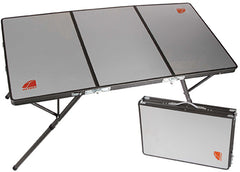 Aluminium | Oztent Bi-Fold Table for Camping and outdoor adventures