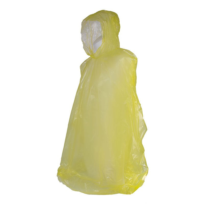 Elemental Emergency Poncho. Yellow