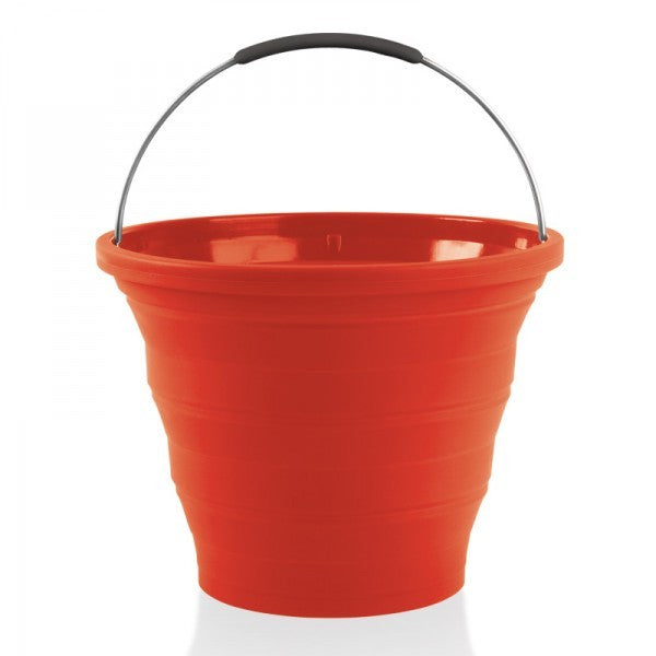 Companion Pop Up Bucket 10 litres Red