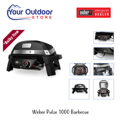 Weber Pulse 1000 Barbecue Black