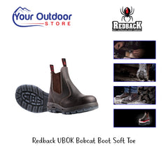 Redback UBOK Bobcat Boot Soft Toe