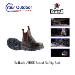 Brown | Redback USBOK Safety Boot Hero Image