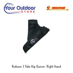 Redzone 3 Tube Hip Quiver- Right Hand