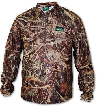 SABLE AIRFLOW LONG SLEEVE ZIP TOP GRASSLAND CAMO
