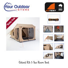 Oztent RX 5 Tent & Living Room Floor