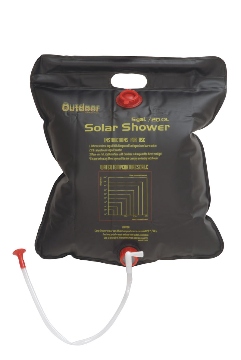 Outdoor Connection 20 Litre Solar Shower