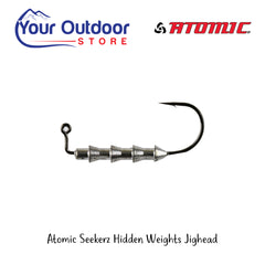 Atomic Seekerz Hidden Weights Jighead