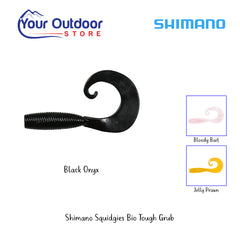 Black Onyx | Shimano Squidgies Bio Tough Grub
