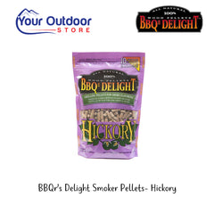 Hickory | BBQr's Delight Hickory Wood Pellets for Smoking