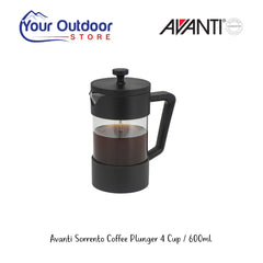 Avanti Sorrento Coffee Plunger 4 Cup