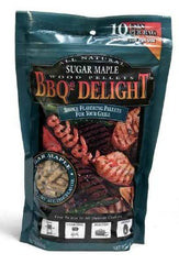 BBQrs Delight Smoking Pellets Sugar Maple