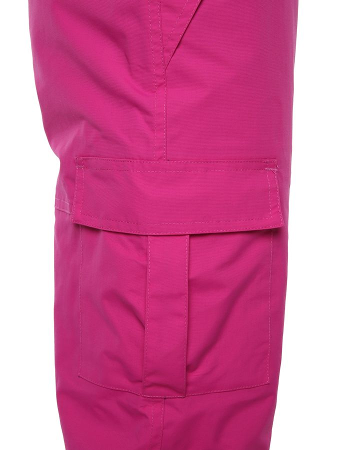 XTM Scoobie Pant. Berry Pink color. Full Body front View. Your Outdoor Store